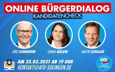 AfD Solingen lädt zum zweiten Online-Bürgerdialog ein